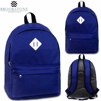 Harga Brookstone Dionne Mccue Daypack Backpack (Royal Blue)