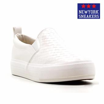 Harga New York Sneakers Bunty Slip On Shoes(WHITE)