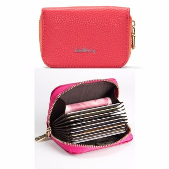 Baellerry Leather Coin Purse Wallet (WATERMELON) Price Philippines