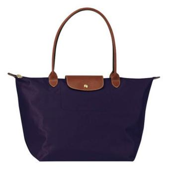 Longchamp Le Pliage Nylon Large Long Handle Shopping Tote Bag Large, LLH Bilberry Price Philippines