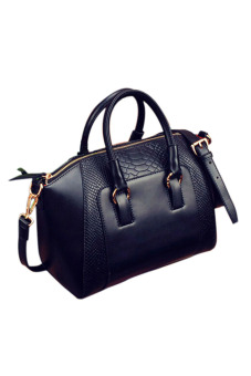 Amango Leather Tote Bag (Black) Price Philippines
