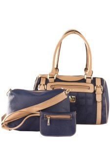 Harga Elena 5676 Premium Bag Set (Royal blue)