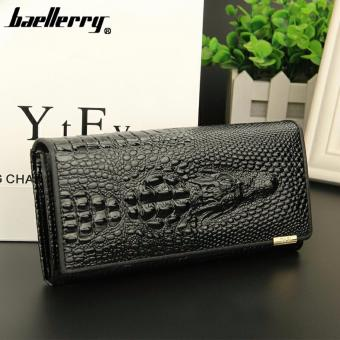 Baellerry Luxury Genuine Leather Women Wallet(Black) Price Philippines