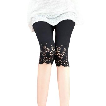 Harga Pure cotton Summer female leggings