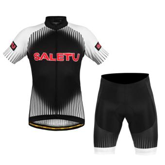 Harga Cycling Short Sleeve Sports Bicycle Jersey+Short Pant - intl