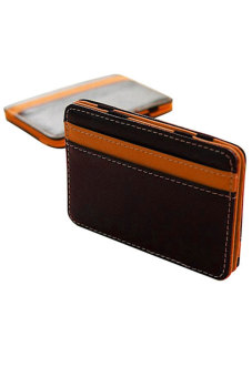 Harga Men's Money Clip Magic Wallet (Orange)