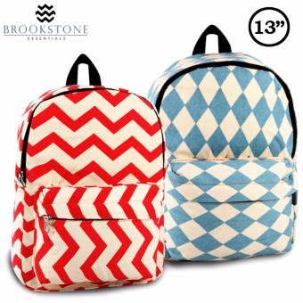 "Brookstone Karena Astle 13"" Backpack Set of 2 Price Philippines"