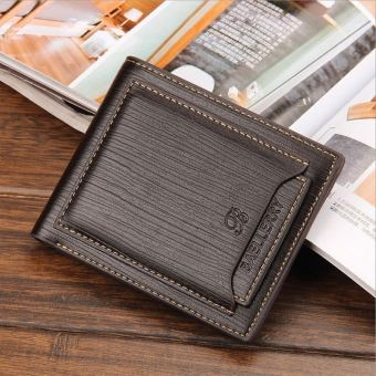 Baellerry Men's Casual Wallet Credit Card Holder Color:Brown (Intl) Price Philippines