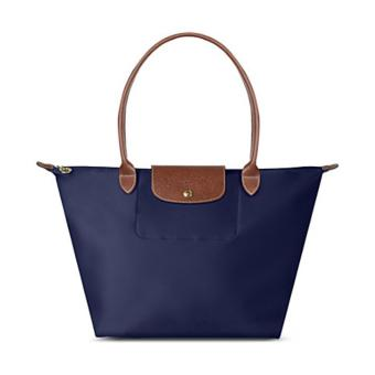Longchamp Le Pliage Nylon Large Long Handle Shopping Tote Bag Large, LLH Navy Blue Price Philippines