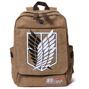 Ufosuit Attack on Titan Wings of Liberty Backpack (Brown) (Intl) Price Philippines