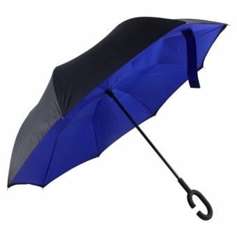 Harga Inverted C- handle Umbrella (Royal Blue)