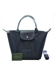 Harga Longchamp Le Pliage Neo Small Short-Handle (Bilberry)