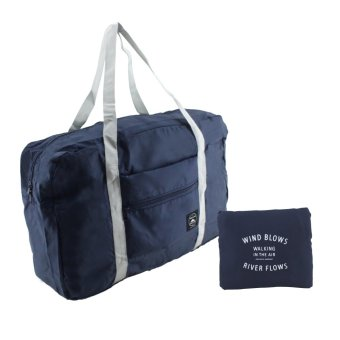 Travel Manila Weekeight Folding Carry Bag (Navy Blue) Price Philippines