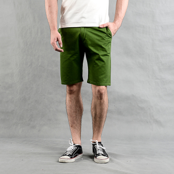 Harga Thrift Market Casual Shorts (Green)