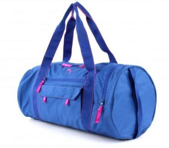 Harga PUMA Fit AT Sports Duffle Bag (True Blue/Ultra Magenta)