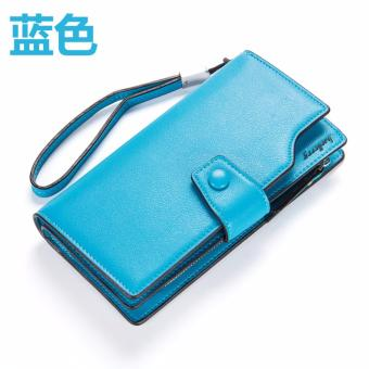 Baelerry Leather Women Wallet Trending (BLUE) Price Philippines