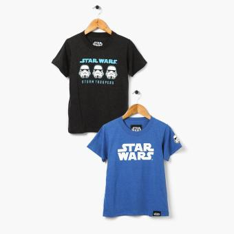 Harga Star Wars Boys 2-Piece Graphic Tee Set (Size 12)
