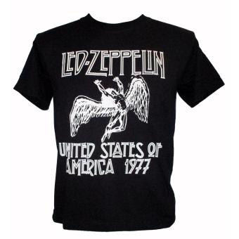 Led Zeppelin USA 1977 T-shirt (reo) Price Philippines