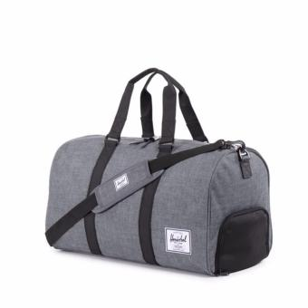 HERSCHEL NOVEL DUFFLE CHARCOAL CROSSHATCH Price Philippines