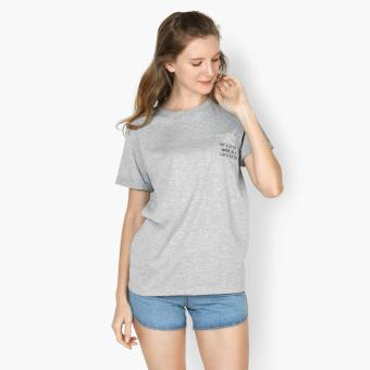 "GTW Urban ""Try A Little Harder, Be A Little Better"" Statement Tee (Light Gray) Price Philippines"