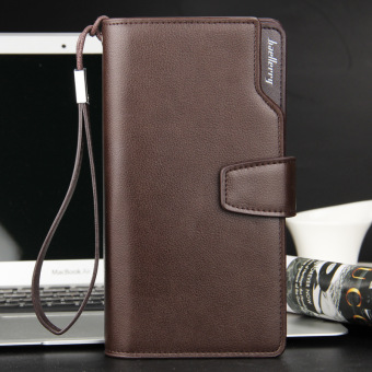 Baelerry Luxury large Capacity Leather Mens Wallet Zipper Long Male Purse Clutch Carteira With Coin Pocket Card Holder Price Philippines