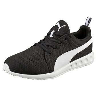 Harga Puma Carson Runner Mesh Men's Running Shoes ( Black/ White)