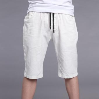 Big Boys Summer Pants Children Shorts for Boys Knee Length Pants Infant Solid Trousers for Kids Bottoms New Boys Teen Half Pants White - intl Price Philippines