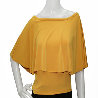 Harga Marian Off Shoulder Top (Mustard)