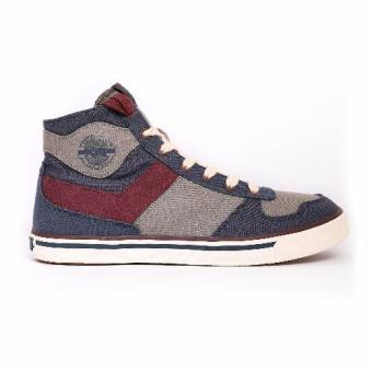 PONY MEN'S STREET ARCHIVE - ARENA HIGH (CHARCOAL GREY/PORT ROYALE) Price Philippines