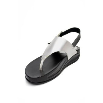 Harga Kayce Flip Flops by 'Floppies by Ohrelle' (Silver)
