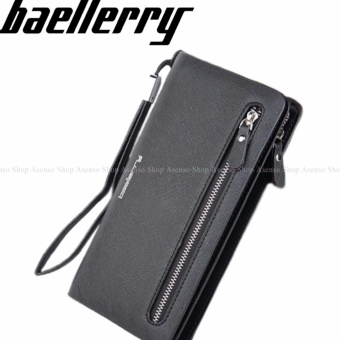 Baellerry Women Fashion Elegant Long Zipper Wallet Clutch Purse Black Price Philippines