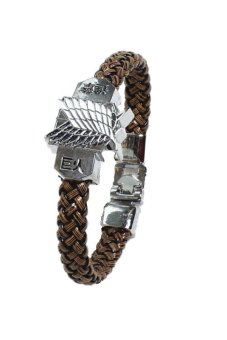 Attack on Titan Cosplay Bracelet (Brown) Price Philippines
