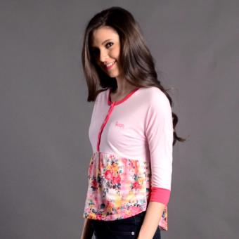 Harga Bum Ladies Next Nature Blouse (Pink)