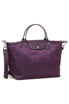 Harga Longchamp Le Pliage Néo Medium Short Handle (Bilberry)