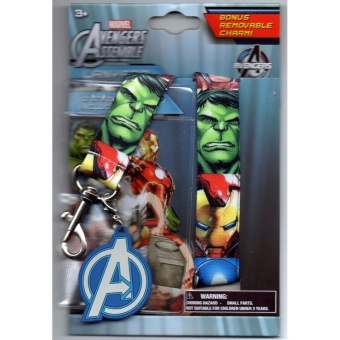 Harga Avengers Assemble Lanyard with Charm and ID Holder