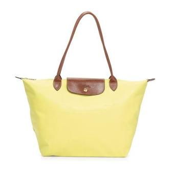 Longchamp Le Pliage Nylon Large Long Handle Shopping Tote, LLH Lemon Yellow Price Philippines