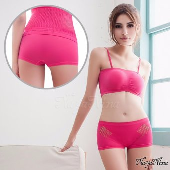 Harga Naya Nina Sports Clothing Sports Underwears Activewear Sport Hipsters Panties Pink
