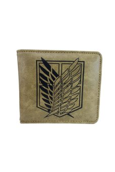 Anime Attack on Titan Scouting Legion Hasp Wallet (Brown) Price Philippines