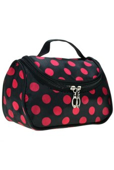 Cosmetic Bag (Black/Pink) Price Philippines