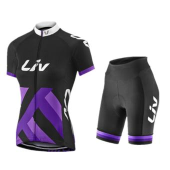 Harga Fortress Bike Cycling liv Jersey with Non Bib Short (LIV5)