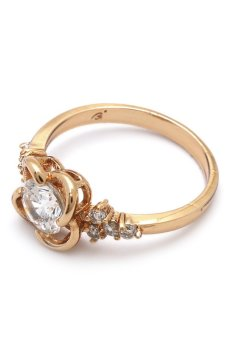 Harga Jewelrista RIN070AG250A14 Ring (Rose Gold)