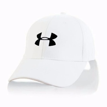 Harga Cap Mania Under Armour white