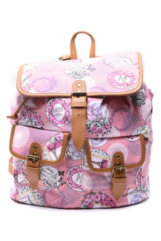Harga Hdy Biffy Backpack Bag (Paris Pink)