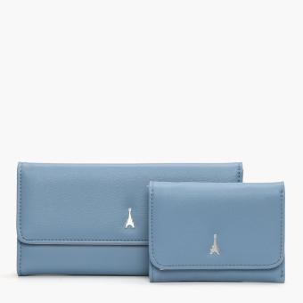 Harga SM Accessories Girls Eiffel Tower Compact and Long Wallet Set