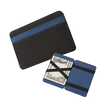 Slim Male Magic Wallet leather Purse Men Women High Quality Carteira Magica Masculina Porte Monnaie Small Wallets -Blue - intl Price Philippines