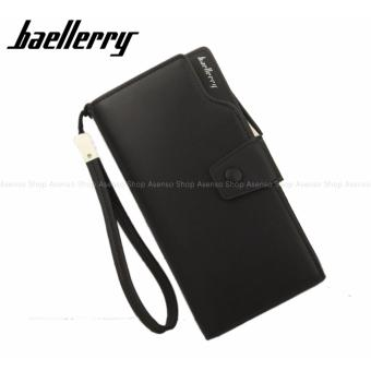 Baellerry Women Fashion Elegant Long Button Wallet Clutch Purse Black Price Philippines