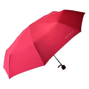 Harga Esprit Umbrella Cube Umbrellas (Solid Raspberry)