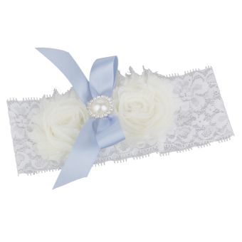Bridal Wedding Prom Garter (White) Price Philippines