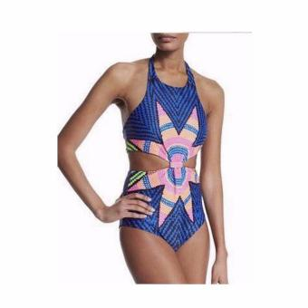 One Piece Swimsuit for Women (Blue) Price Philippines