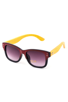 Bamboo Shades S.W.F R.G.B Sunglasses (Red/Black) Price Philippines